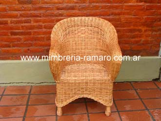 Sillón Mimbre Single Colgante   016